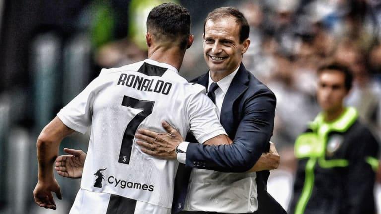 Massimo Allegri Hails Ronaldo's Game Winning Wonder Goal for Juventus Against Empoli
