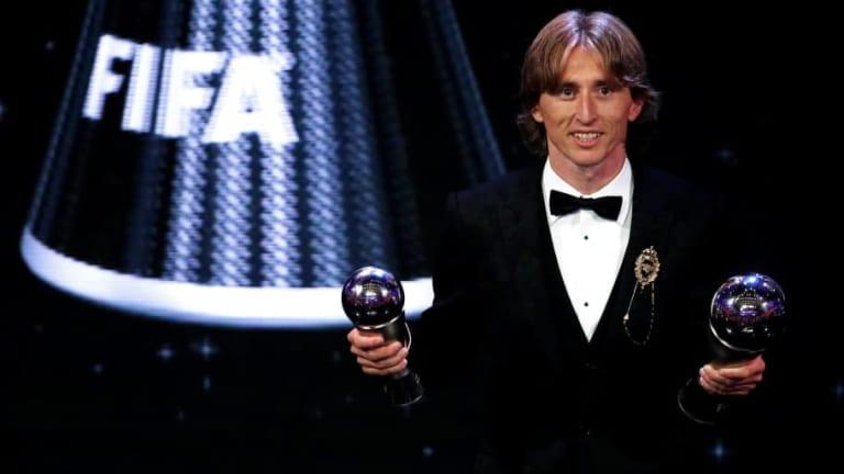 La edición especial de las botas de Modric para celebrar el The Best