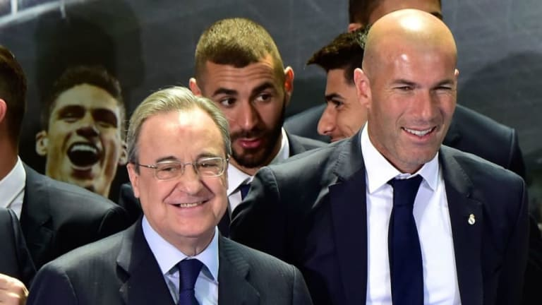 Zinedine Zidane se quiso ir antes del Madrid pero Florentino lo evitó