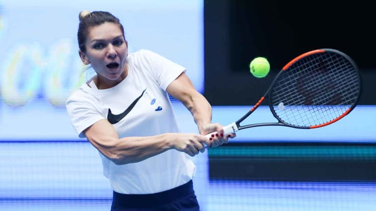 Simona Halep Retires From China Open First Round With Back Injury