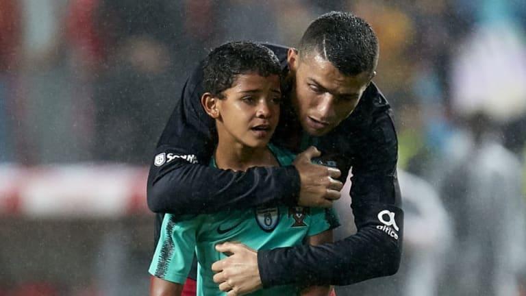 El hijo de Cristiano Ronaldo hace a los 8 años lo que su padre nunca hizo