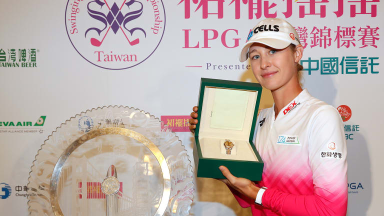 Nelly Korda Wins Taiwan Championship for First LPGA title