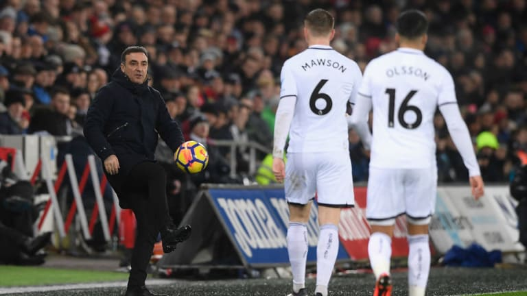 Swansea Boss Carlos Carvalhal Hopes 3-1 Win Over Arsenal Will Boost Transfer Deadline Day Dealings