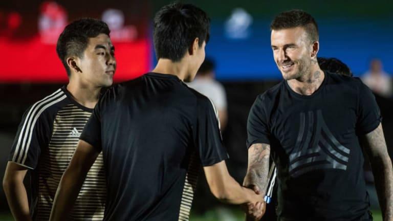 TRABAJO PENDIENTE: Beckham continúa eligiendo logo y nombre para el equipo de MLS en Miami