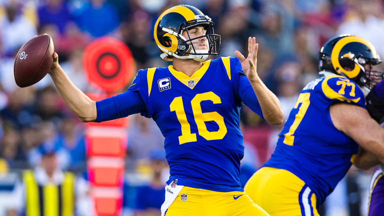 Jared Goff for NFL MVP? The QB Makes His Case as Rams Top Vikings on Thursday Night Football