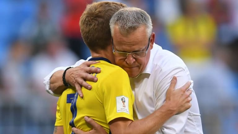 Janne Andersson Claims England Can 'Definitely' Win World Cup After Three Lions Knock Out Sweden