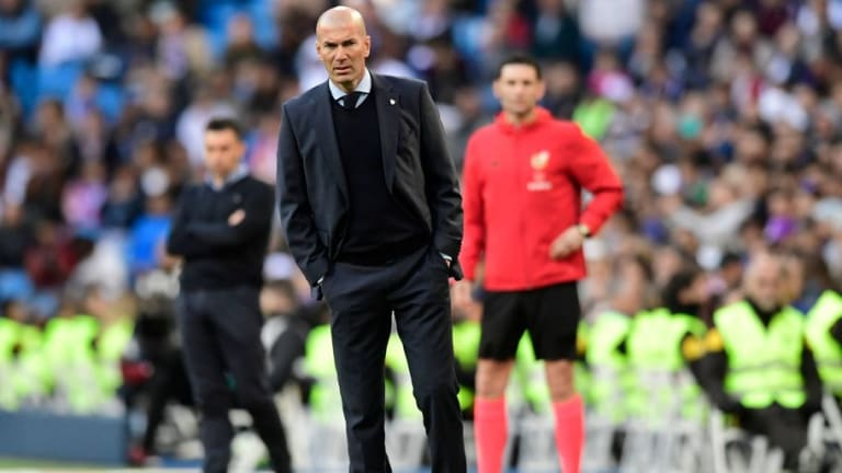 Zinedine Zidane Hails Players' Attitude in Leganes Win Ahead of 'Biggest Game of the Year'