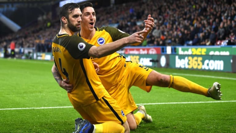 Huddersfield 1-2 Brighton: Report, Ratings & Reaction as Mounie Red Card Hands Seagulls Win