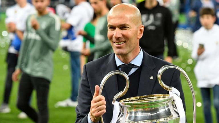 Real Madrid Coach Zinedine Zidane Steps Down After Sealing Third Successive Champions League Title