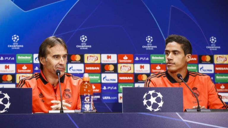 El buen gesto de Varane con Lopetegui tras su despido del club