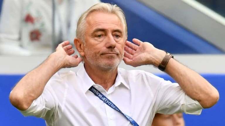 Bert van Marwijk Hopes Australia Players Learn From World Cup Experience After Peru Defeat