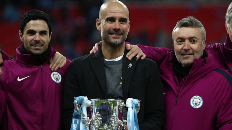 Guardiola Delighted With 'Important' Trophy Win After Man City Thrash Arsenal in Carabao Cup Final