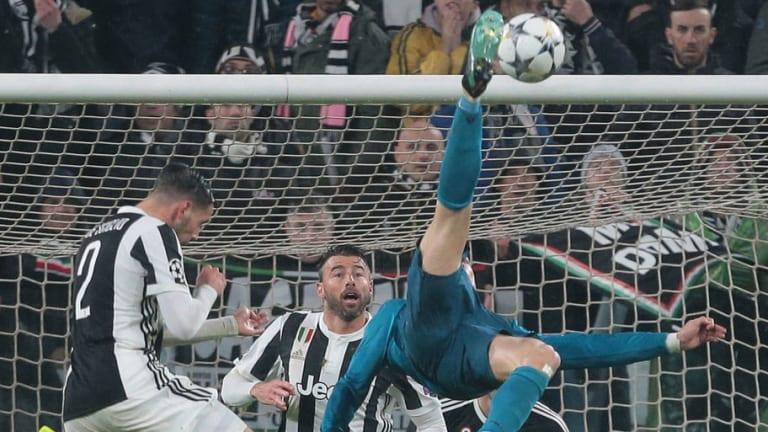 Las mejores reacciones al gol de chilena de Cristiano Ronaldo