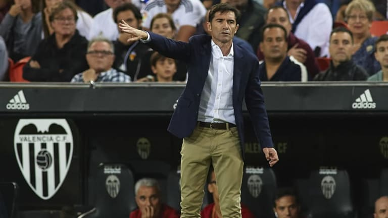Valencia Manager Marcelino Praises His 'Very Competitive Team' After Barcelona Draw