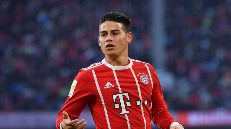 Reports Claim Bayern Munich Will Hatch a Plan for James Rodriguez to Join Liverpool in £53m Deal