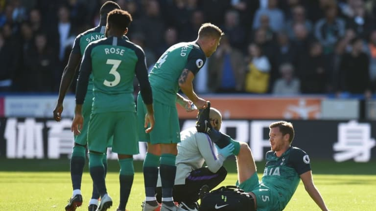 Tottenham Star Jan Vertonghen Could Be Out for Over a Month Following Hamstring Injury