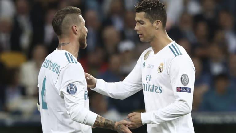 Sergio Ramos contesta a Cristiano Ronaldo y defiende al Real Madrid