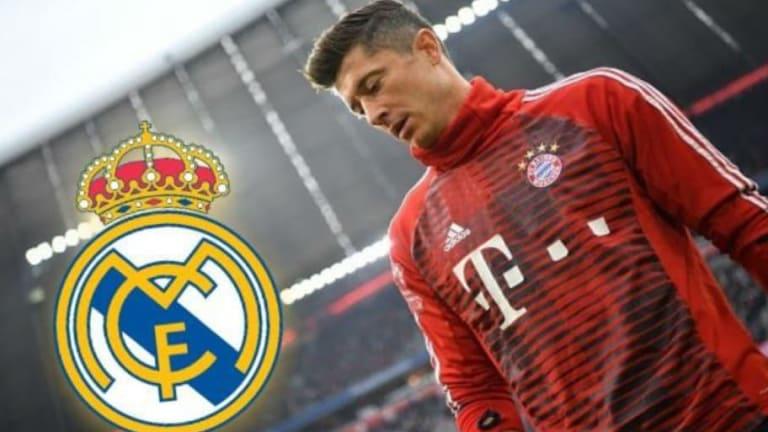 UNA LOCURA   El jugador que Lewandowski pide que se vaya para fichar por el Real Madrid