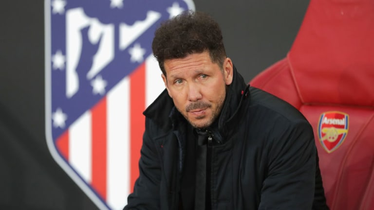 Simeone Reveals 'Goosebumps' Ahead of Home Leg With Arsenal & Praises Atleti's 'Balls' in 1-1 Draw