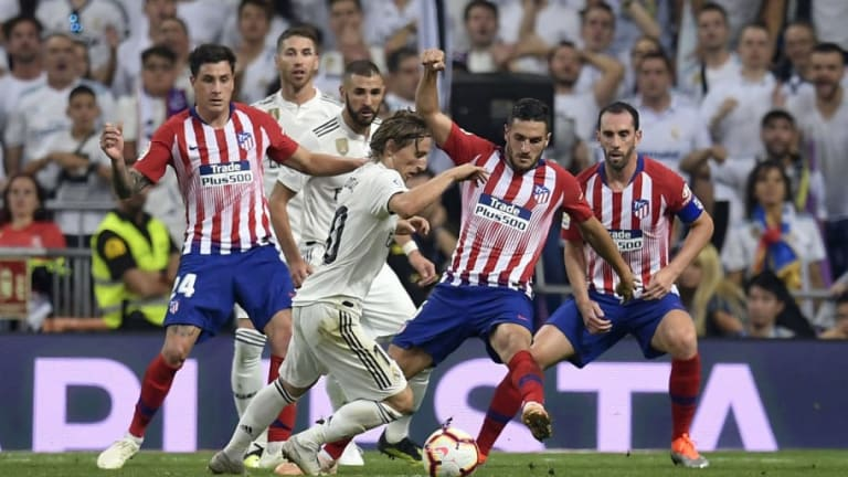 El 1x1 del Atlético de Madrid en el empate del derbi contra el Real Madrid