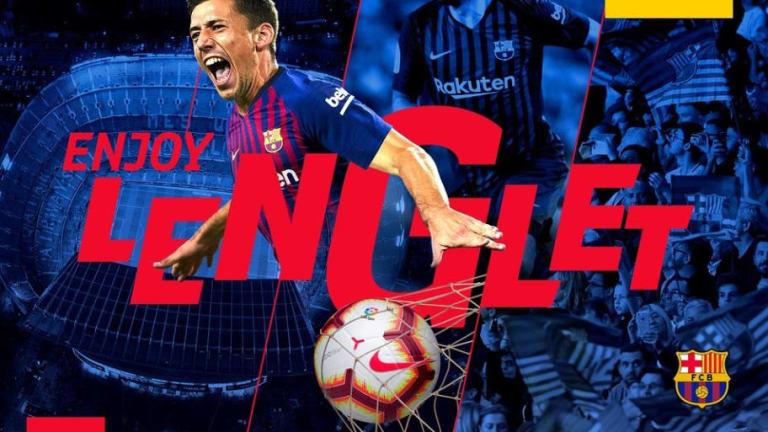 OFICIAL | Clément Lenglet, segundo fichaje del FC Barcelona