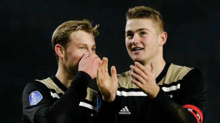 El precio en el que tasaría el Ajax a De Jong y De Ligt
