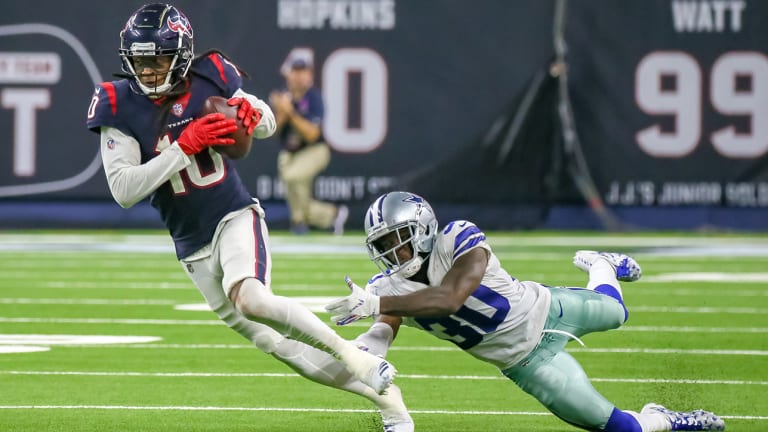 Traina Thoughts: DeAndre Hopkins Leaves Cowboys on the Ground, NFL Players in Awe