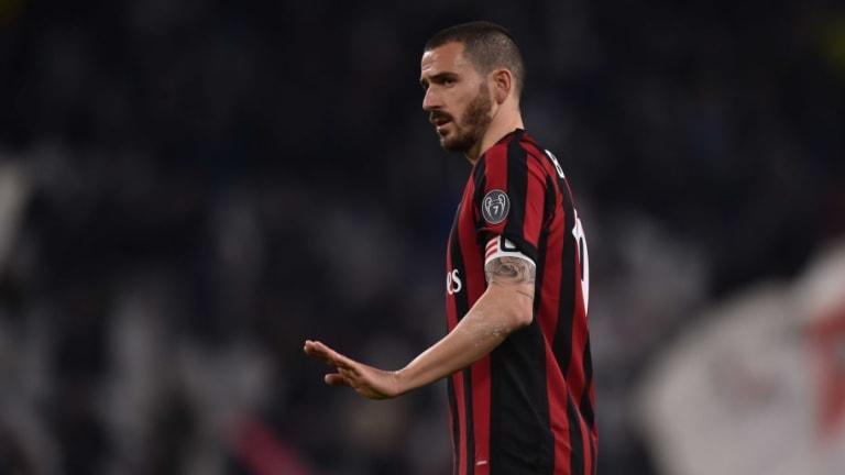 Maurizio Sarri Plots to Bolster Chelsea Defence With Move for AC Milan Defender Leonardo Bonucci