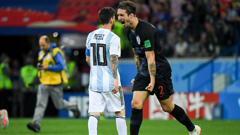 World Cup Daily Podcast: Lionel Messi and Argentina Get Demolished by Croatia