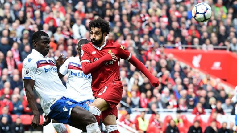 Mohamed Salah in Danger of Missing Remainder of Premier League Season After Incident in Stoke Match