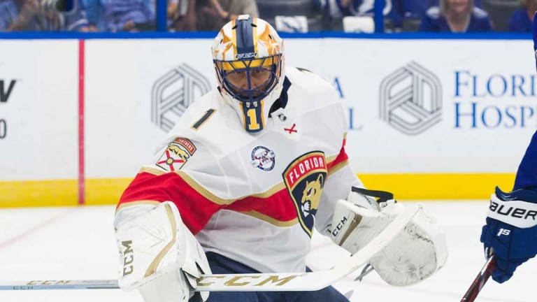 Panthers Goalie Roberto Luongo Out 2-4 Weeks With Knee Injury