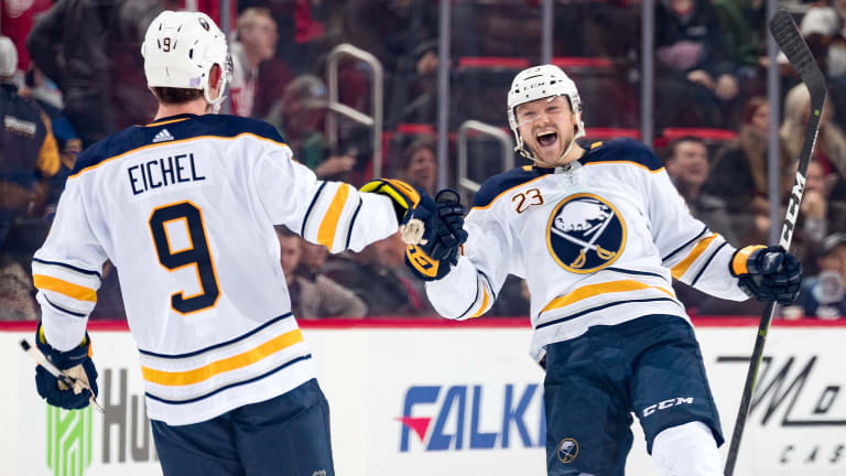 NHL Power Rankings: It's Good to Be Buffalo Right Now