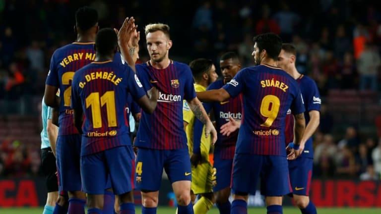 El Barcelona fue cazado espiando a uno de sus objetivos para la temporada que viene