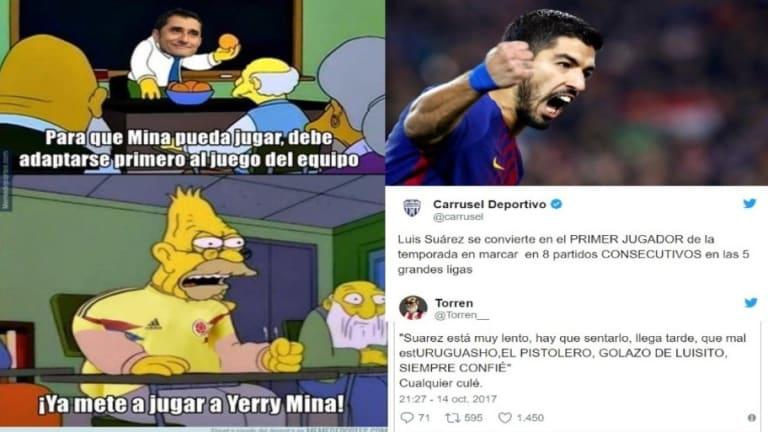 Los mejores 'tweets' de la remontada del Barça ante el Alavés (2-1)