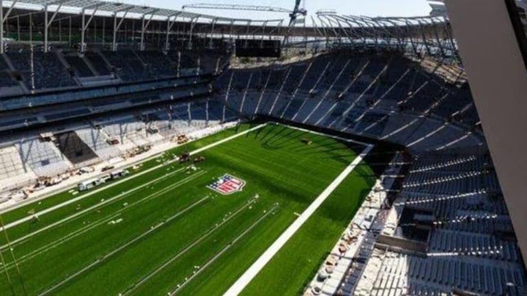 PHOTOS: New Images of Tottenham's Stadium Have Been Revealed as Construction Nears Completion