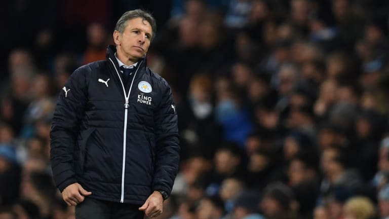 Leicester Manager Claude Puel Reveals Why He Made Tactical Changes During Manchester City Defeat