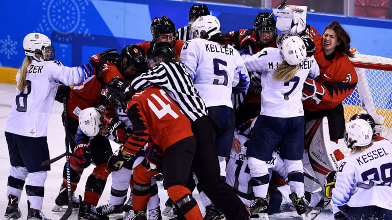Thursday Olympic Daily Digest: Can the U.S. and Canada Play Again, Please?