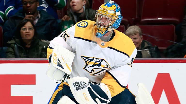 Still at the Top of His Game, Pekka Rinne Isn't Really Thinking About Retirement Anymore