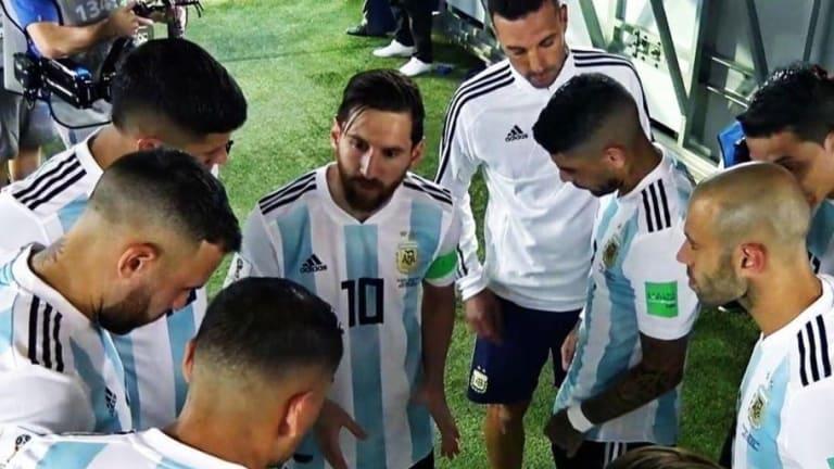 AL DESCUBIERTO | Lo que Messi le dijo a sus compañeros en el entretiempo del partido ante Nigeria