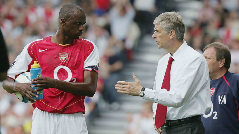 Gunners Legend Patrick Vieira Throws Hat Into the Ring to Become Arsenal Manager 'One Day'