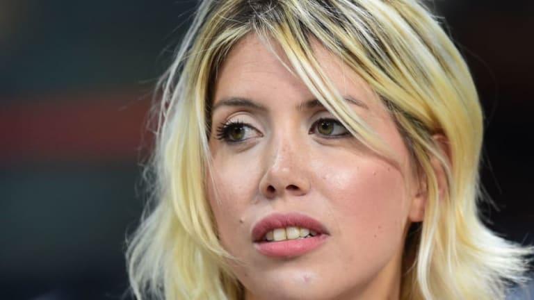 IMPERDIBLE | Wanda Nara imitó en la TV italiana el golazo de su esposo Mauro Icardi