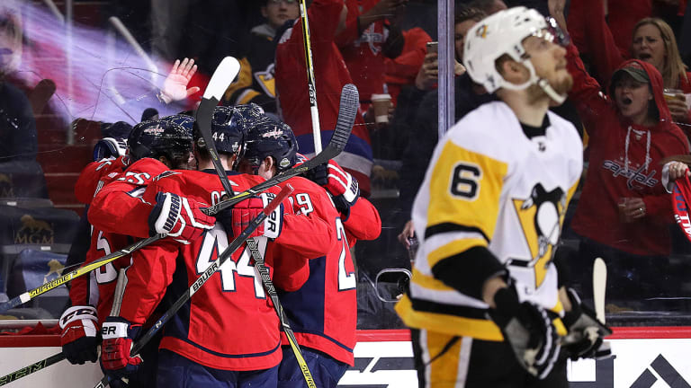 Controversial No-Goal Call Plays Pivotal Role as Capitals Draw Even With Penguins