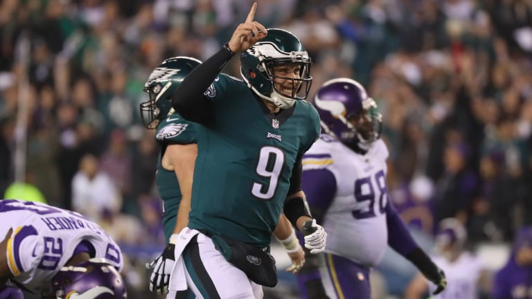 'We're Going to the Stinkin' Super Bowl': Eagles, Patriots Punch Ticket for Minnesota