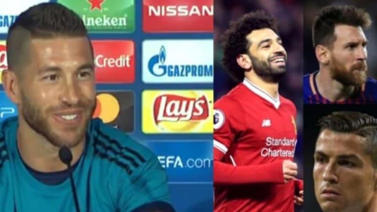 La reflexión más contundente de Sergio Ramos para los que comparan a Salah con CR7 y Messi