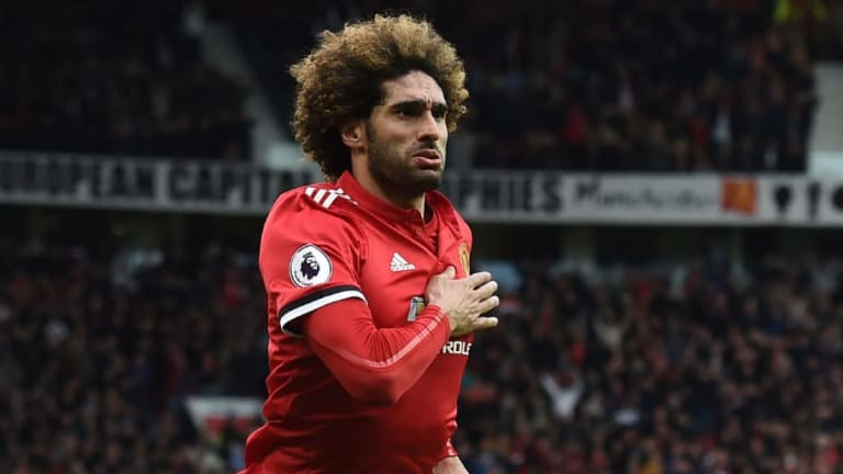 Man Utd Officially Announce Marouane Fellaini Has Signed a New 2-Year Contract