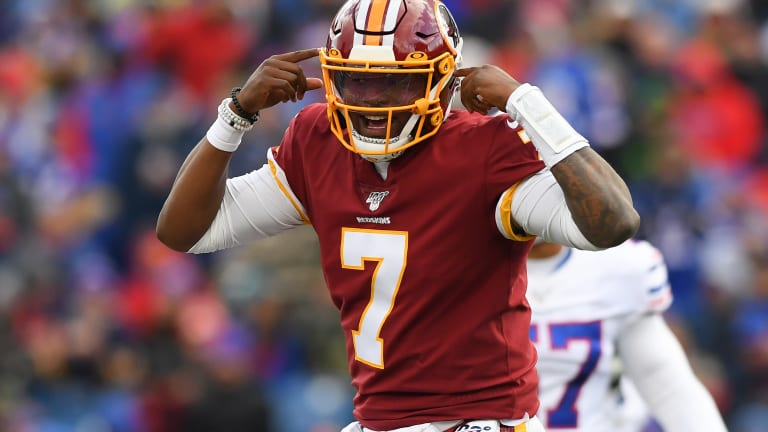 Redskins fail to score TD for 3rd straight game, fall 24-9 to Bills