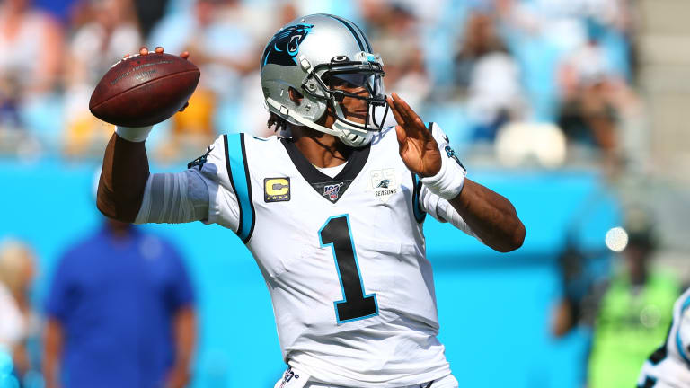 Report: Cam Newton 'Considering' Foot Surgery, Unlikely to Return to Panthers