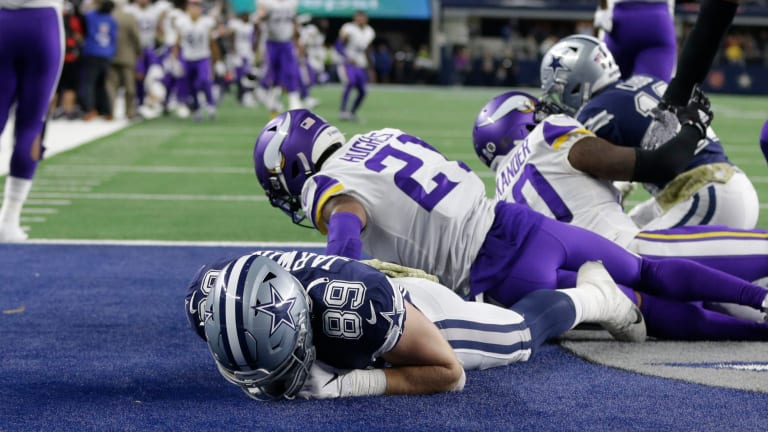 Playcalling Comes Up Short as Cowboys Fall 28-24 to Vikings