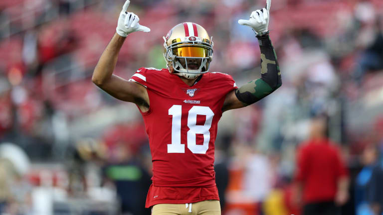 """Kyle Shanahan on Dante Pettis: """"He's had his opportunities"""""""