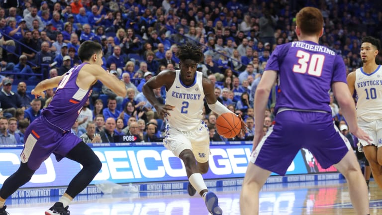No. 1 Kentucky Loses to Unranked Evansville at Rupp Arena